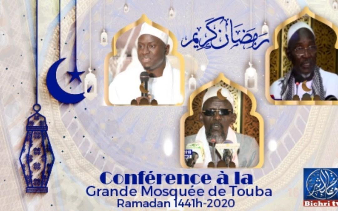 LIVE Conference à la Grande Mosquée de Touba