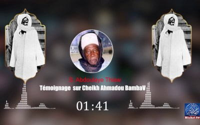 Temoignage   S  Abdoulaye Thiaw Sur Serigne