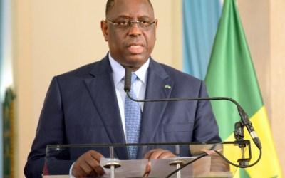 🔴En direct   COVID19-Le message à la Nation du Président Macky SALL
