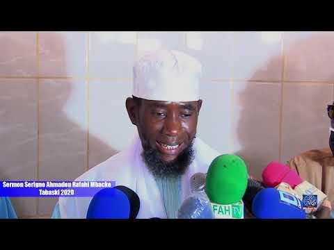 Sermon Serigne Ahmadou Rafahi Mbacke Tabaski 2020
