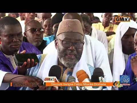 Tabaski 2020: Discours Serigne Fallou MBACKE Diomada