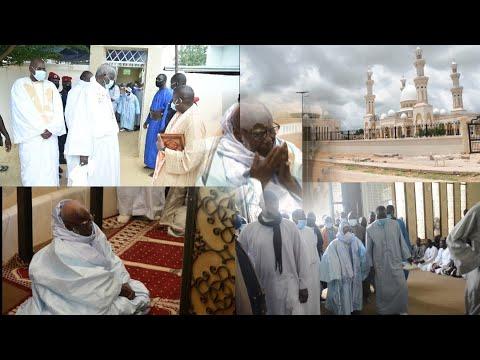 Arrivée Khalif Général des Mourides à Porokhane pour l'inauguration de la grande mosquée
