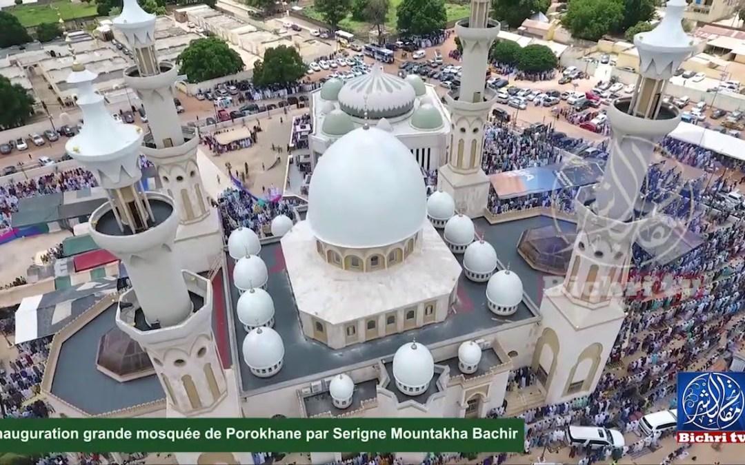 Images drone grande mosquée de porokhane