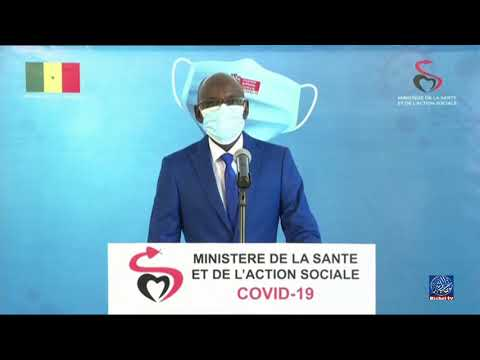 "Le point de situation du ""Coronavirus"" au Sénégal -Mardi. 31 août"