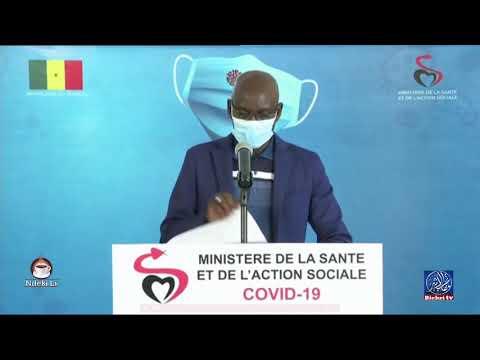"""Le point de situation du """"Coronavirus"""" au Sénégal -Mercredi. 19 août"""