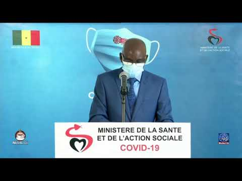 "Le point de situation du ""Coronavirus"" au Sénégal -lundi 24 août"