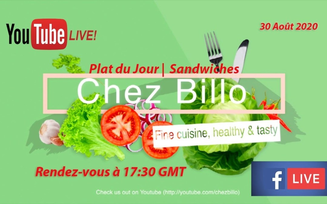 Live Show   Bernde ak Sokhna Billo   Plat du Jour: Sandwiches – Philly Cheese Steaks
