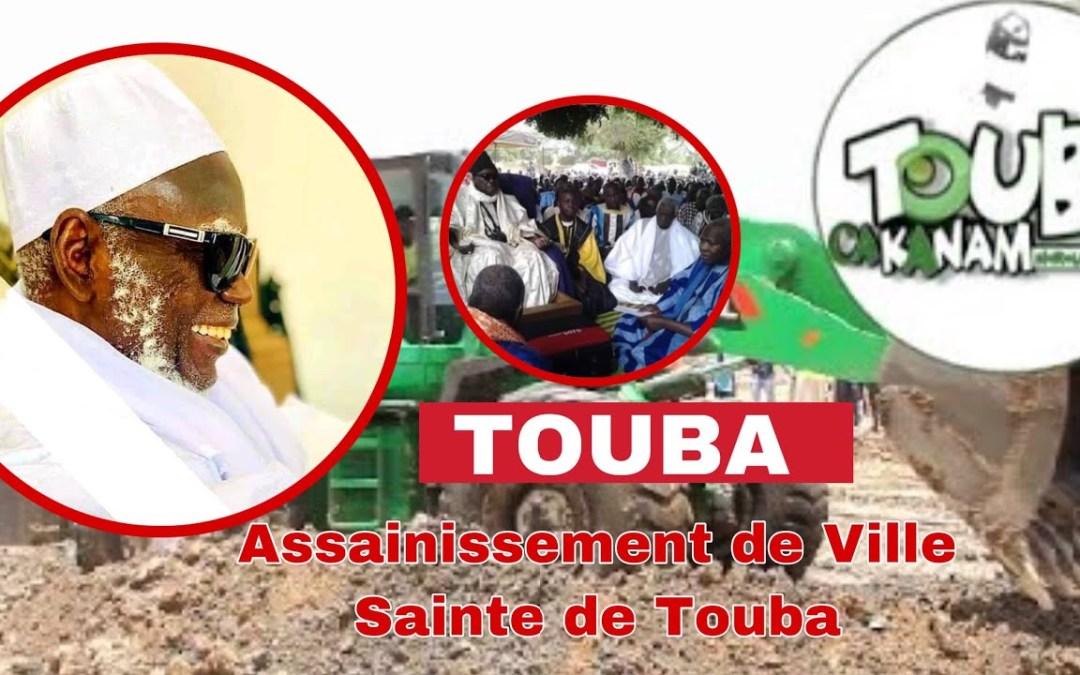 live Touba| Touba ça kanam  -Travaux d'assainissement: la participation des  bayes fall
