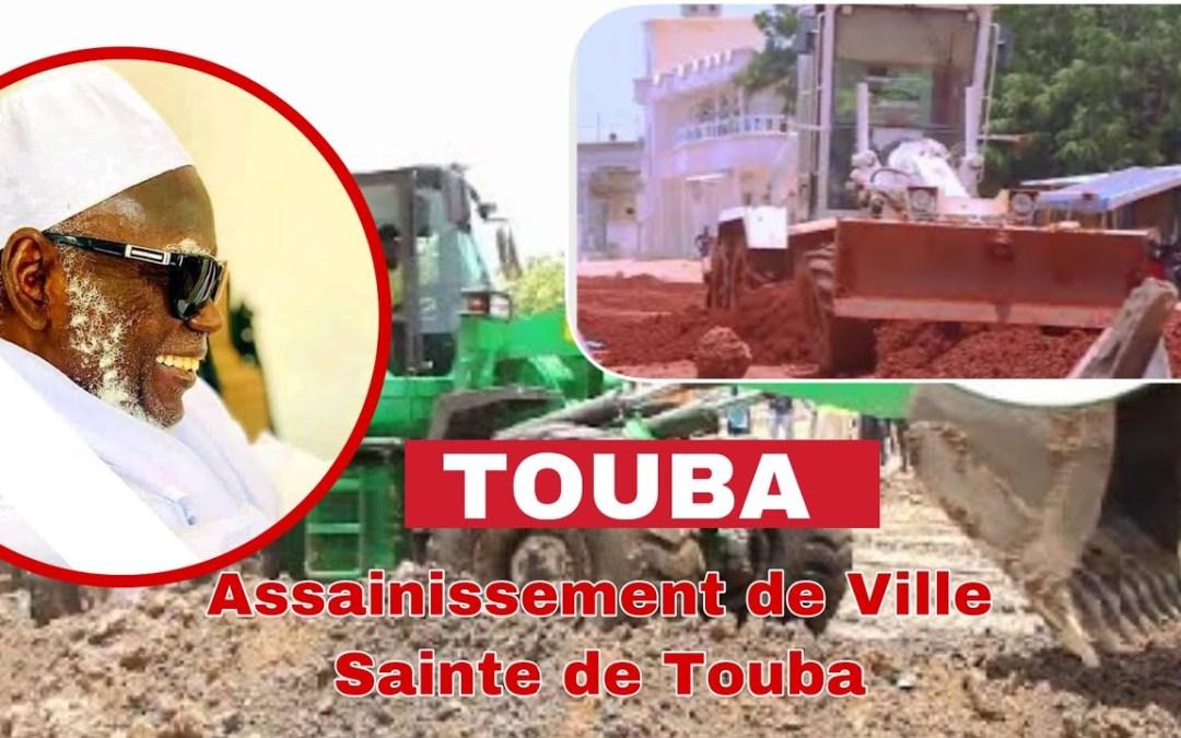 Touba ça kanam 6eme jours projet d'Assainissement de Ville Sainte de Touba