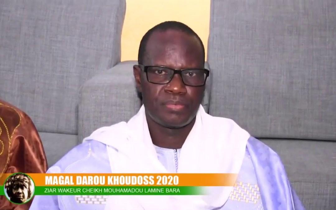 BAYTI MAGAL DAROU KHOUDOSS 2020 WAKEUR CHEIKH MOUHAMADOU LAMINE BARA
