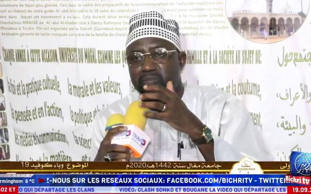 LIVE | Focus sur l'action du Cheikh | Théme: Sens et porteé du Magal