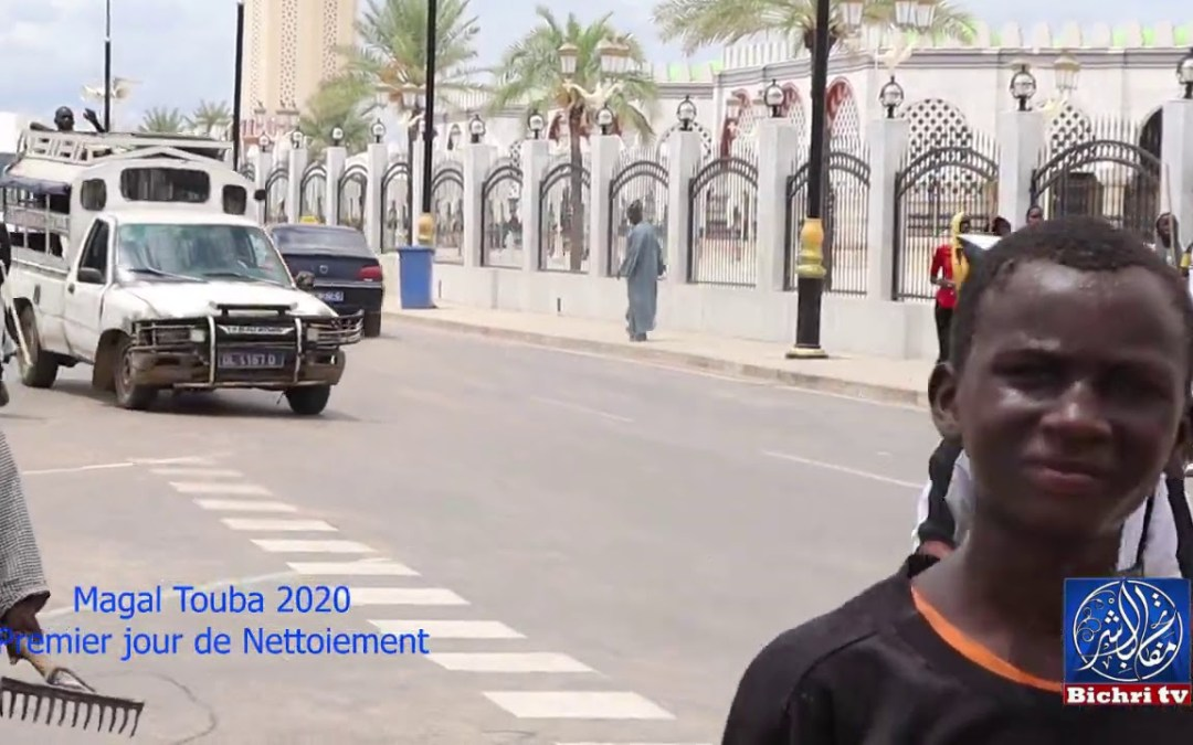 Magal Touba 2020 Premier jour de Nettoiement