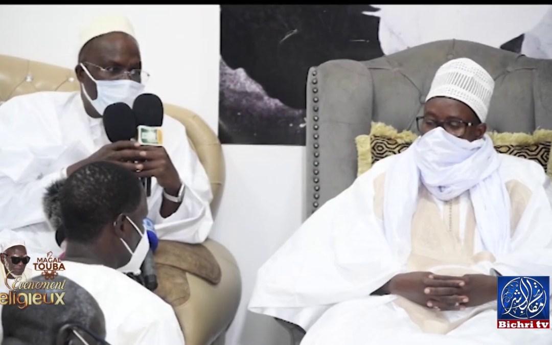 Magal Touba2020 : Khalifa Sall reçu par Serigne Basse Abdou Khadre Mbacké