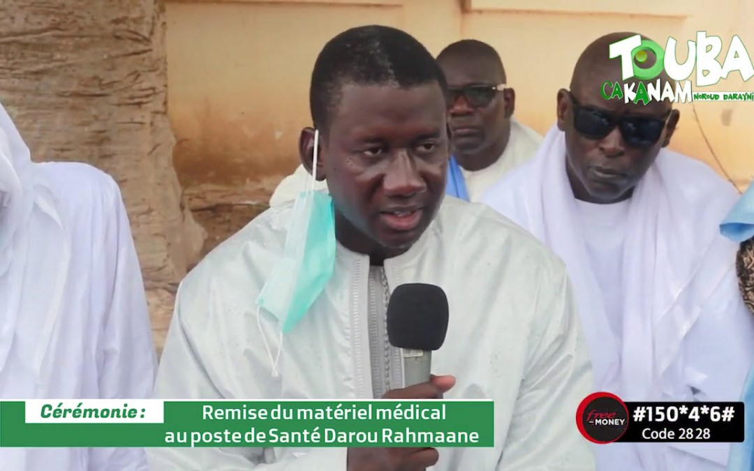 Poste de santé Darou Rahmane équipé par Touba Ca Kanam