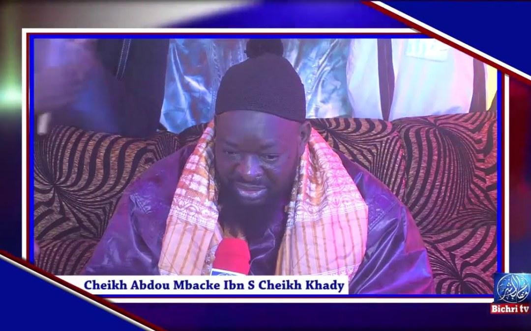 Rappel: Les paroles de Serigne Cheikh Abdou Mbacke à Bichri TV