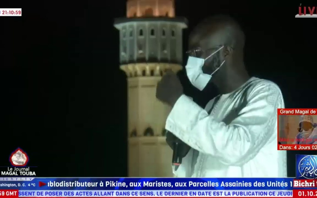 En Direct de Touba : Journal du Safar du Jeudi 1er Oct. 2020