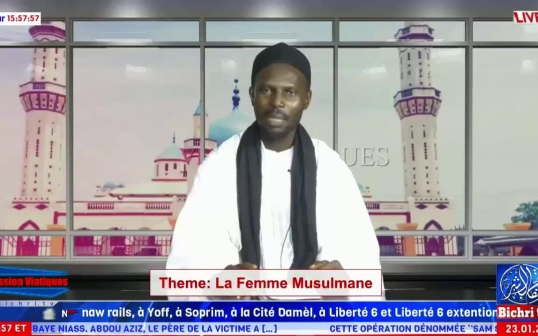 🔴En direct   LIVE   Emission Viatiques   Theme: Taxawayu jiguéen ci l'islam
