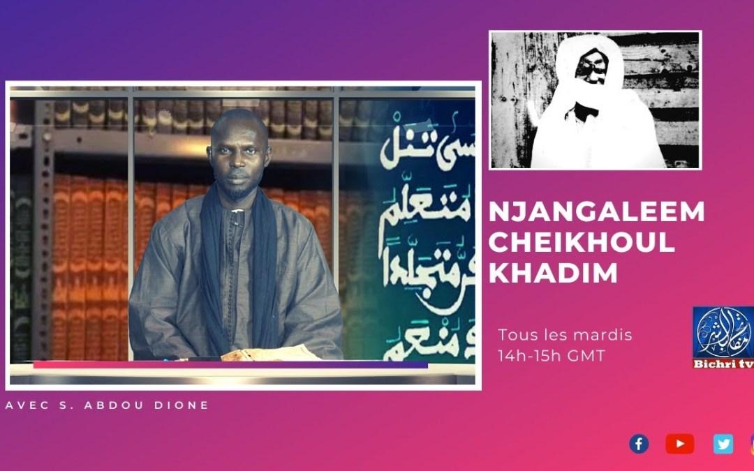 "🔴En direct   Njangaleem Cheikhoul Khadim   Tome 7 ""Massalikoul Djinane""P13"