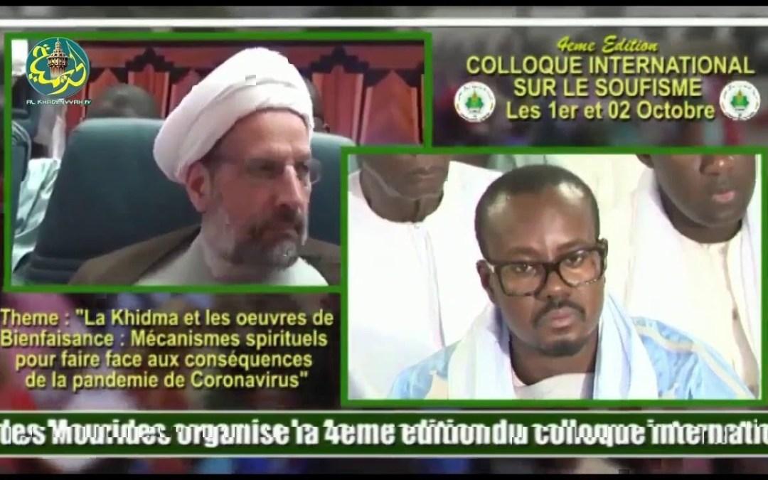 LIVE   Colloque Du Magal   4ème Colloque International sur le Soufisme