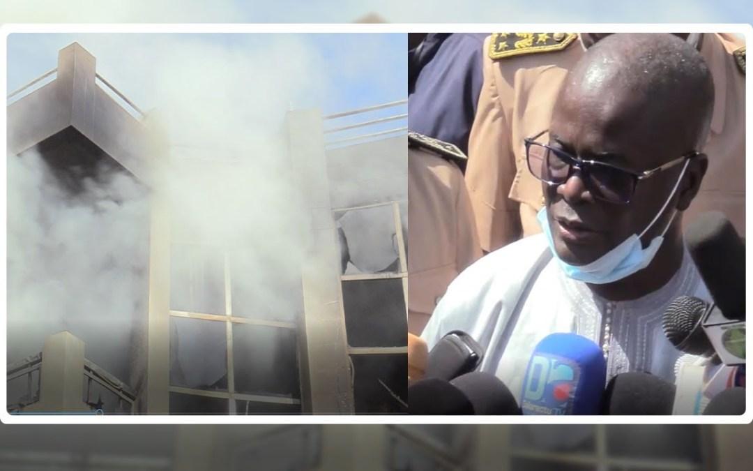 Incendie marché Ocas Touba : Abdou lahad Ka regrette les dégâts