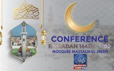 Direct Dakar : Waxtaanu koor  à la Grande Mosquée de Masalikoul Djinane Ramadan 1442H 2021 Jour 24