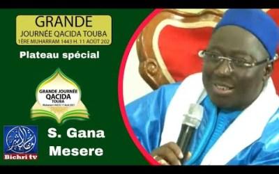 S. Gana Messere lan moy xassida | waccayu bisu xassida Touba