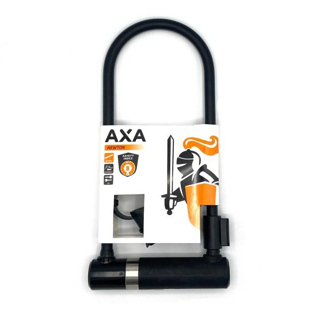 Candado U para bicicleta Newton UL – 300 x 14 mm negro - AXA