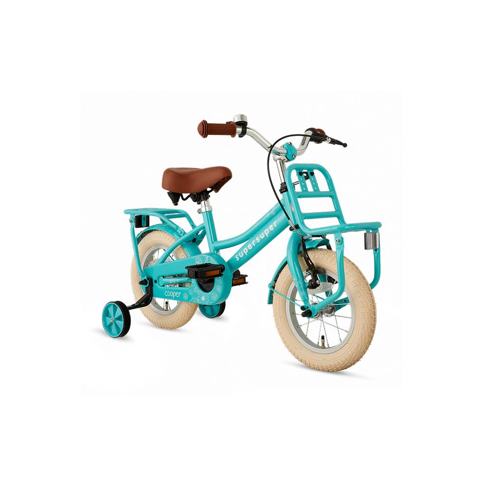 ) Bicicleta Cooper – 12 pulgadas – turquesa – Super super