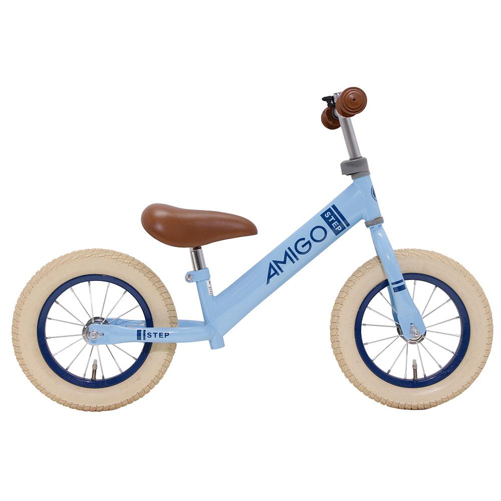 Bicicleta sin pedales – azul claro- 12 pulgadas – Amigo