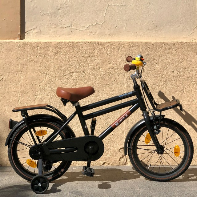 Bicicleta 16 negro
