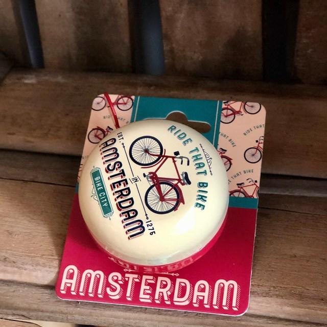 Timbre de bici – 'Ride that bike' Amsterdam – Matix
