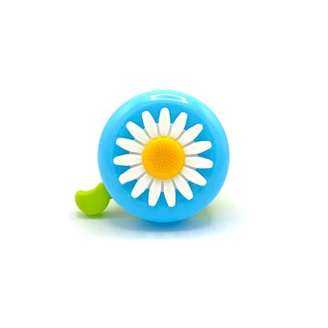 Timbre de bici – Flor color azul claro