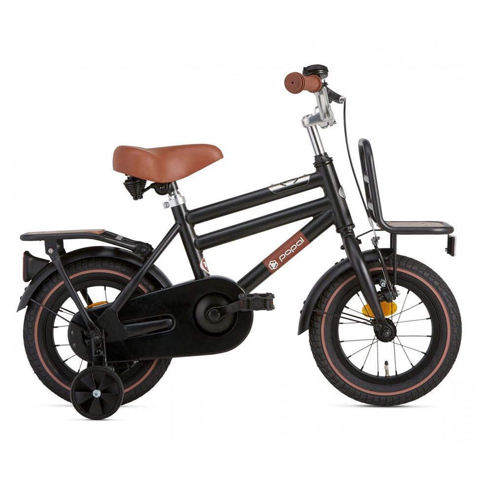 Bicicleta Cooper Bamboo - 12 pulgadas – negro mate – Super Super