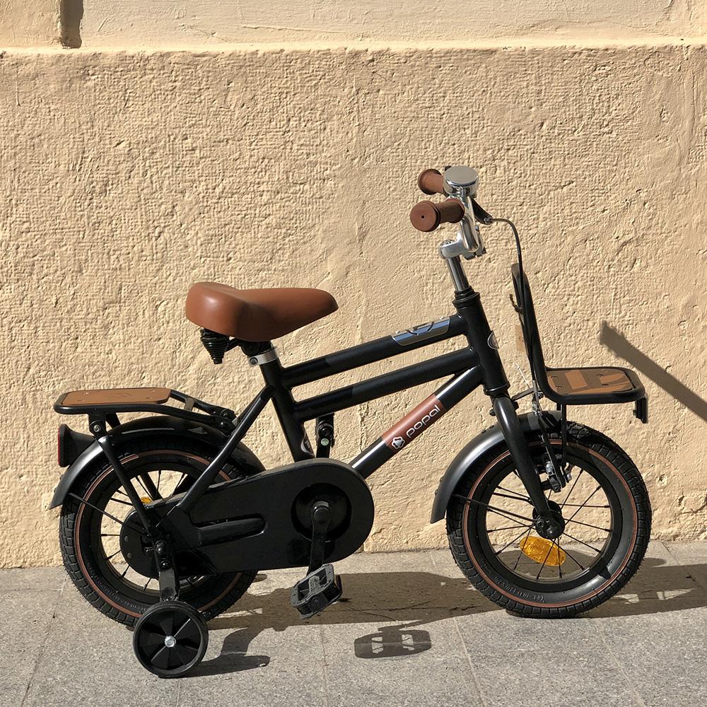 Bicicleta 12 negro