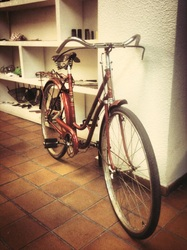 """Bicicleta Orbea señora año 1940, nuestra """"Dolores""""…"""