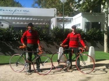 Evento paseo con bicicletas clásicas; sacamos a pasear a Leonarda y Leopolda…