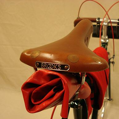 Rollo de cuero para bicicletas antiguas y clasicas
