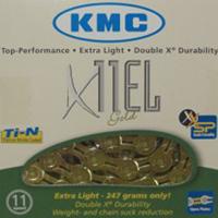Cadena KMC X-11 EL Gold