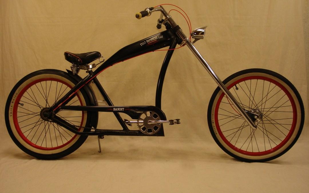 Bicicleta custom de estilo chopper, Felt Bandit