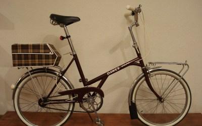 Bicicleta DAWES de paseo.