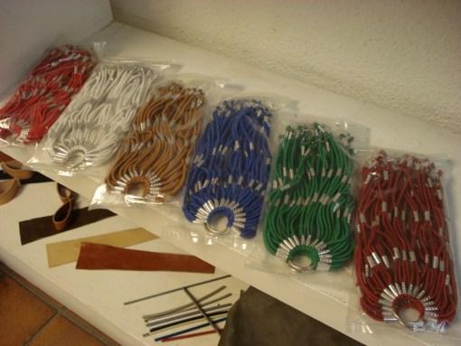Cubrefaldas azul rojo estilo retro catalogo