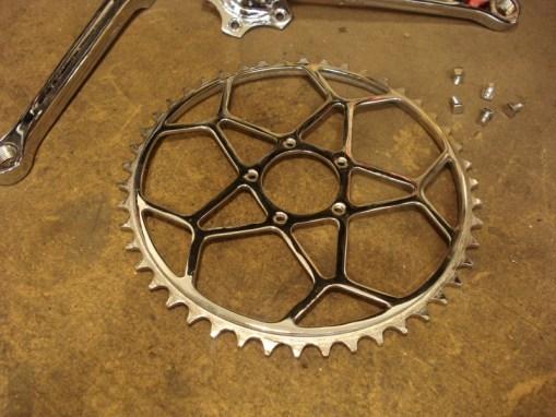 Cromado bicicletas antiguas madrid plato
