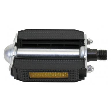Pedal-con-bloque-de-goma-negro-y-reflector-estandar