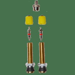 BLISTER 2 VALVULAS MOTO TUBELESS X-SAUCE
