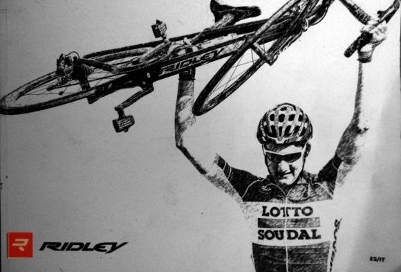 Desde dentro del coche en el Tour de Francia-BM-Tienda de bicicletas Ridley Madrid