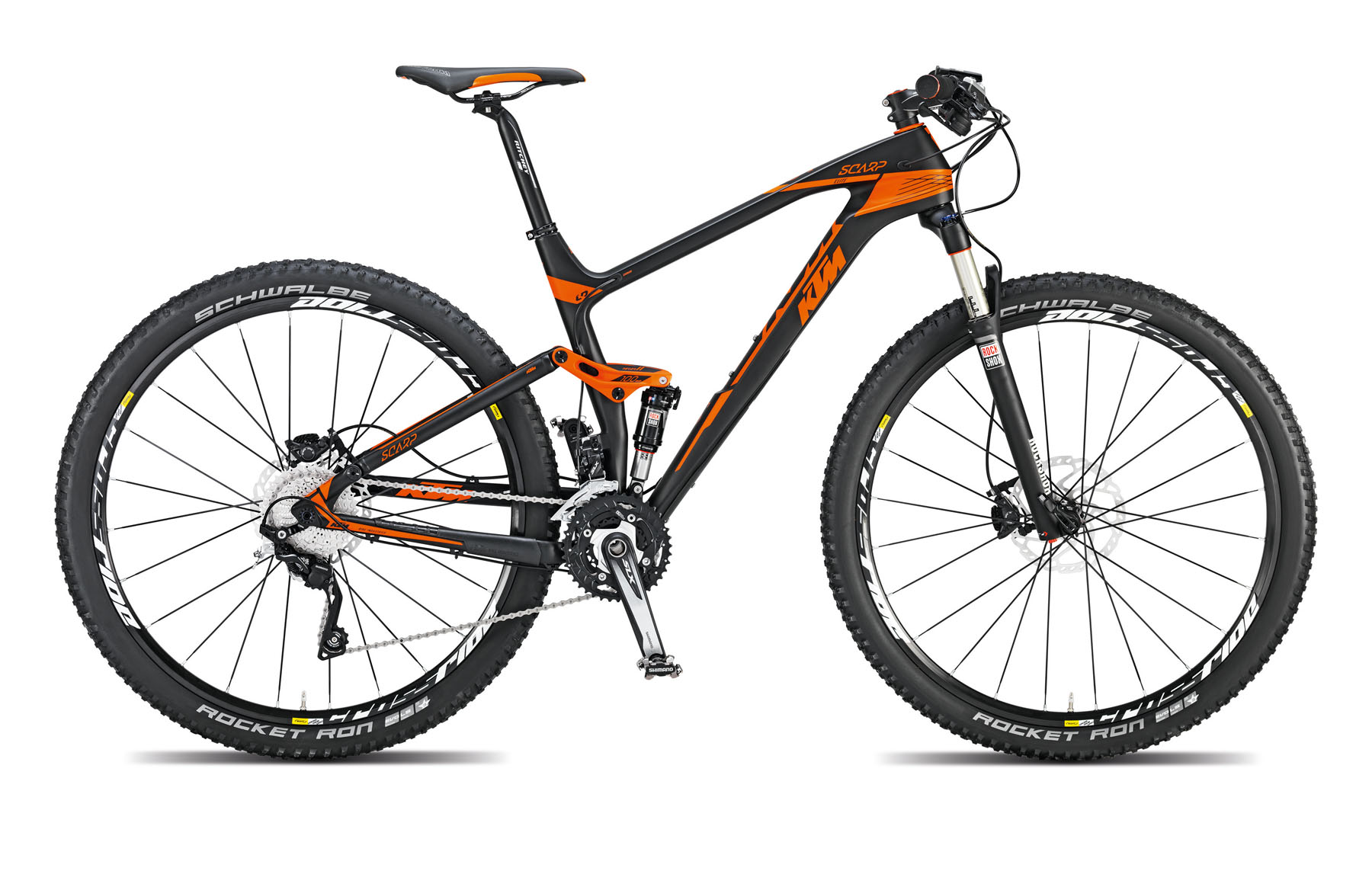 Bicicleta Ktm Full Suspension Scarp 29 Elite