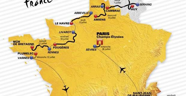 Turul Frantei 2015. Lista echipelor ce vor lua startul