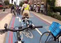 Cum a evoluat ciclismul urban in Londra:  Cycle Superhighway 7 (CS7)