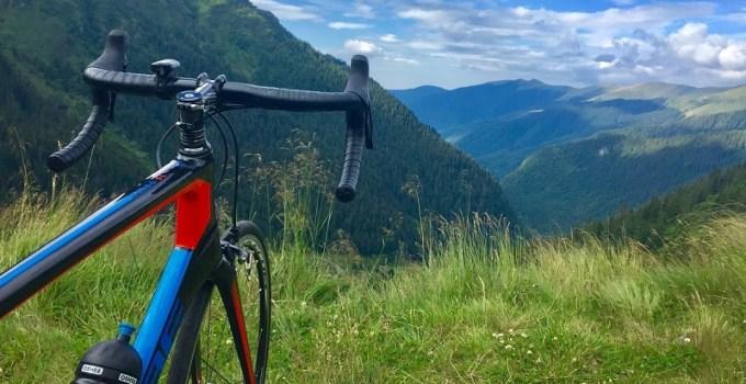 Cu bicicleta pe Transfagarasan