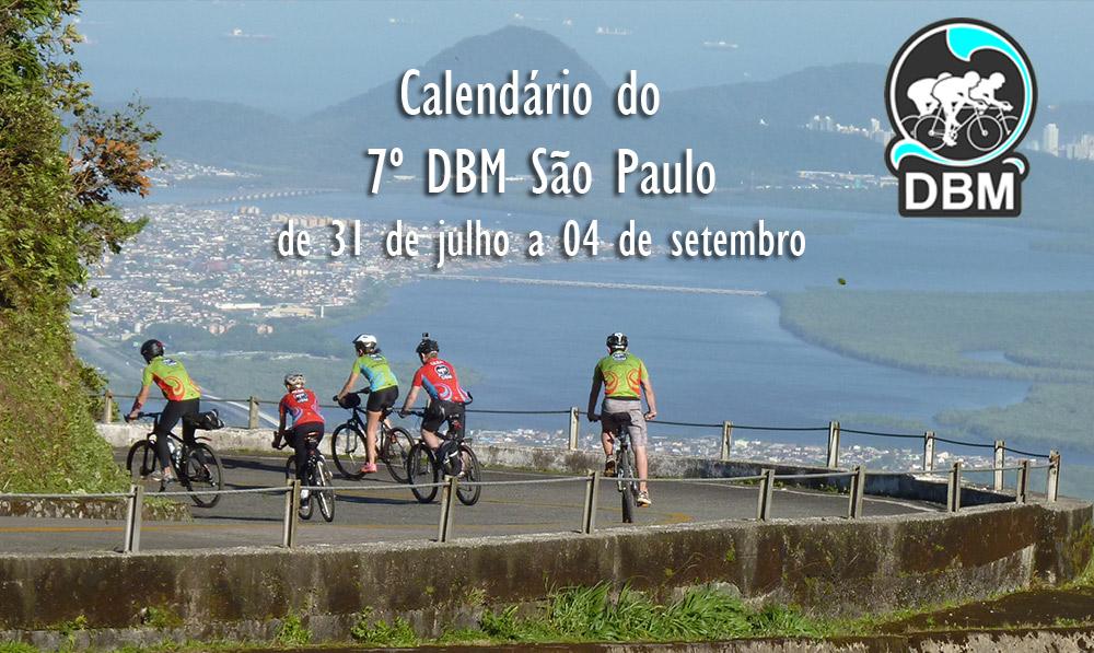 Calendário 7º DBM São Paulo